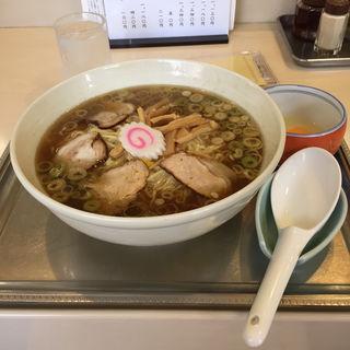 中華麺(生玉子付き)(永福町大勝軒)