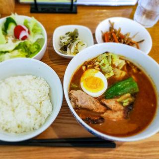 スープカレー定食(スープカレー店 34)