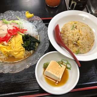 冷麺定食(珉珉 桜橋店 (みんみん))