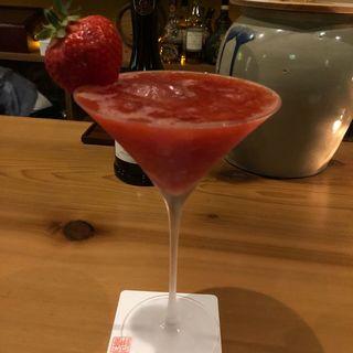 苺のカクテル(鯔背屋)