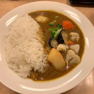 5品目のごろごろ温野菜カレー 大盛(カレーショップC&C 西新宿オークシティ店 (カレーショップシーアンドシー))