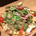 タコとヒヨコ豆のサラダ