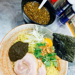 鮑の肝出汁つけそば大盛り(覆麺 智 (ふくめん とも【旧店名】覆麺))
