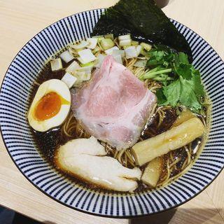 煮干しそば 黒醤油(寿製麺よしかわ 西台駅前店)