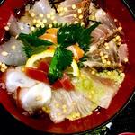 冷やし海鮮茶漬け(旬味旬菜 大和)