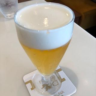 ランチビール(ぴょんぴょん舎  GINZA UNA)