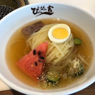 盛岡冷麺(ぴょんぴょん舎  GINZA UNA)