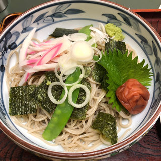 梅おろし蕎麦(桂庵)