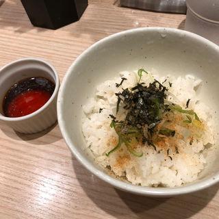 熟成卵かけご飯(中華そば 竹むら)
