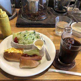 モーニング(ホットドッグ)(喫茶ドンキー)