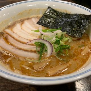 煮玉子ラーメン(ラーメン一心 (らーめんいっしん))