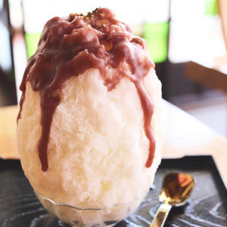 かき氷 カンナの氷しるこ(和kitchen かんな (和キッチン かんな))