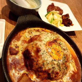 チーズ4種の焼き牛たんキーマカレー 牛たん付セット(炭焼牛たん東山  博多大丸店 )