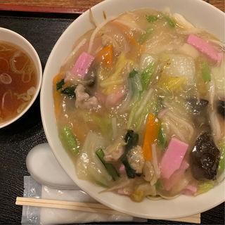 皿うどん(三芳八 (みよしや))