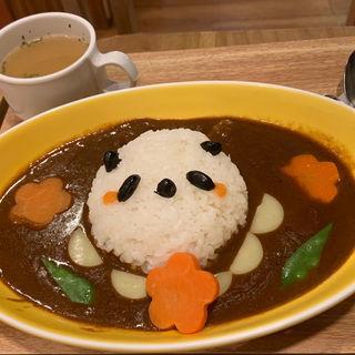 パンダママカレー(しろくまカフェ)