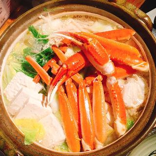 蟹鍋(地酒と地魚 金沢炉端 肉る's ミートルズ 金沢片町店)