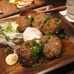 佐賀牛と東京X豚のハンバーグ