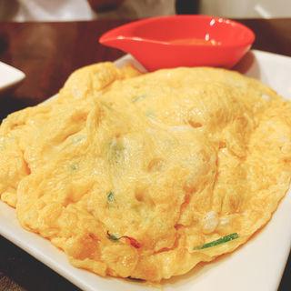 海老の玉子炒め(カイジャオクン)