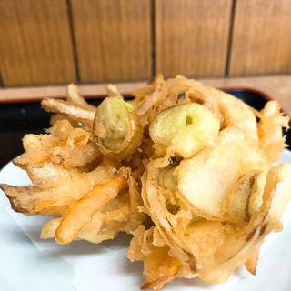 かき揚げ 天ぷら(ねぎどん )