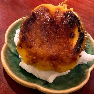 毛ガニ黄餡焼き(要予約)   (銀座 こころん )