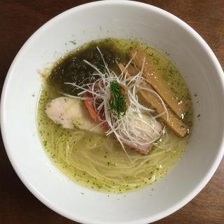 梅塩ラーメン(柳麺 多むら)