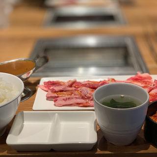 うす切りカルビセット(焼肉ライク)