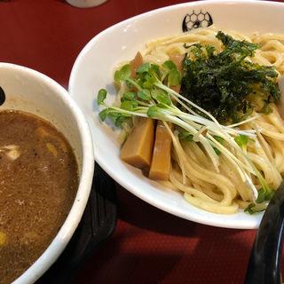 魚介醤油つけ麺(つるかめ六角)