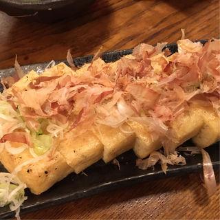 栃尾ジャンボ揚げ(安兵衛 帝石裏店)