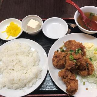 鶏の唐揚げ定食(大洋軒 (タイヨウケン))
