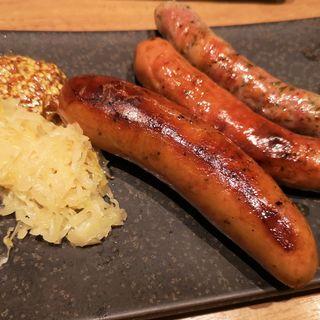 ソーセージ盛り合わせ(肉ビストロ 熟 ルクア1100店 (ニクビストロ ジュク))