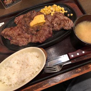 トップステーキ400g(すてーき亭 中野店)