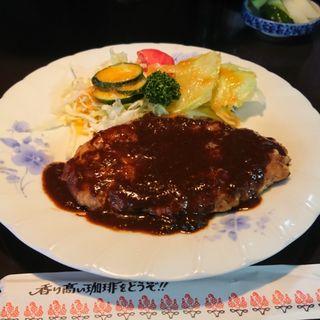 ハンバーグ定食(キッチンクレソン )