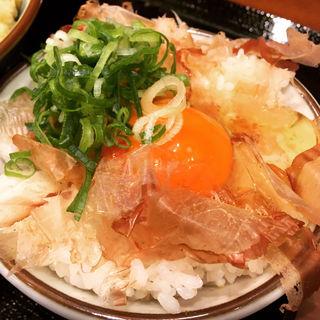 たまごかけごはん(丸亀製麺 武蔵小杉店)