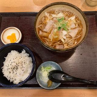 豚そばランチ(ご飯付き)(寿屋 寿庵 (じゅあん))