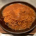 フカヒレあんかけ焼き蕎麦