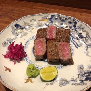 黒毛和牛のサーロインステーキ(肉料理 それがし)