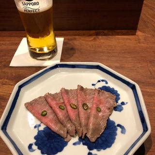 黒毛和牛のローストビーフ(肉料理 それがし)