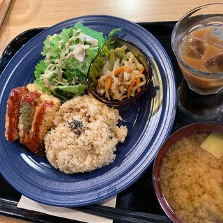 テンペカツライス(ササヤカフェ (SASAYA CAFE))
