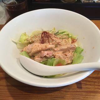 ピリ辛棒棒鶏涼麺〜ゴマ醤油仕立て〜(つなぎ )