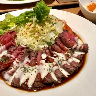 ローストビーフセット(Steak&Wine Griante Umeda)