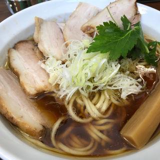 あっさり鶏清湯醤油(鳥見本 (トミモト))