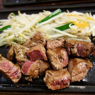 ヒレ定食(鉄板焼天神ホルモンS 中洲川端店)