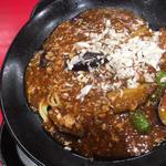 麻婆茄子炸醤麺(餃子の王将 狸小路5丁目店)