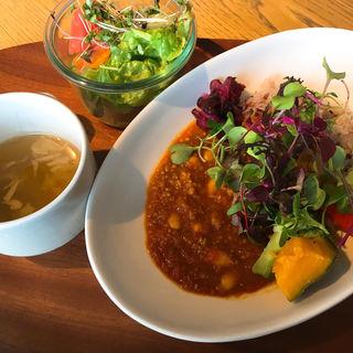 大豆たっぷりトマトキーマカレー(TOILO×TANITACAFE (十彩×タニタカフェ))