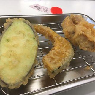 とり天定食(かぼちゃとなす)(天ぷらのひらお 貝塚店 )