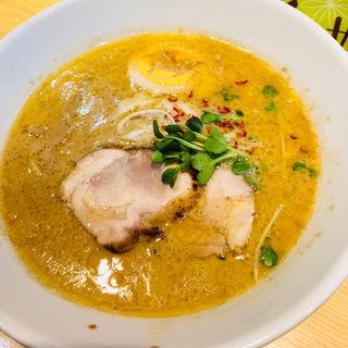 鶏白湯ラーメン(麺屋 龍)