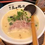 鶏そばフロマージュ(麺や 鳥の鶏次 )