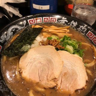 無心そば(半熟味玉・チャーシュー)(無鉄砲 つけ麺 無心 (むてっぽう つけめん むしん))