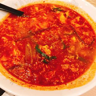 完熟トマト辛麺(桝元 福岡大名店)