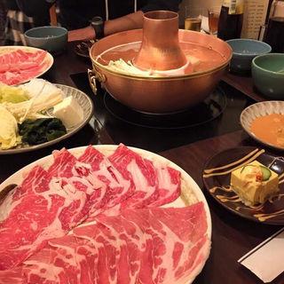B.国産牛リブロース(150g)(しゃぶせん 銀座2階店)